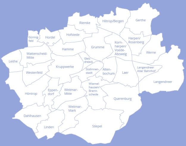 Bochum Karte.Seniorenbüros In Bochum Startseite